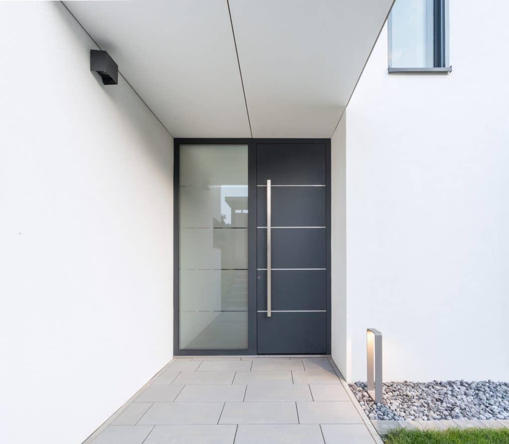 aluminium bejárati ajtó
